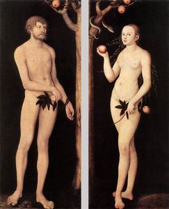 Lucas Cranach The Elder - Adam and Eve