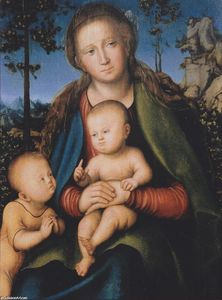 Lucas Cranach The Elder - Madonna