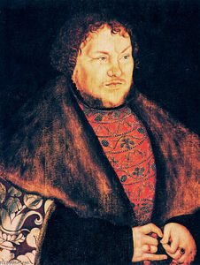 Lucas Cranach The Elder - Joachim I Nestor, Elector of Brandenburg
