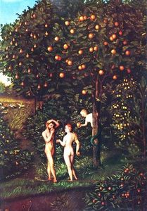 Lucas Cranach The Elder - Fall of Man