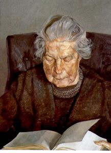 Lucian Freud - The Painter-s Mother Reading