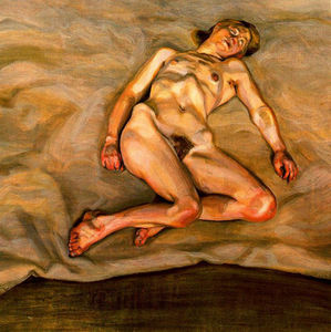 Lucian Freud - Naked Girl Asleep I