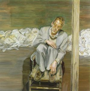 Lucian Freud - Red Haired Man on a Chair