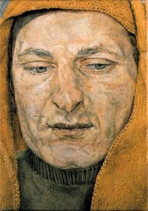 Lucian Freud - Man in a Headscarf (also known as The Procurer)