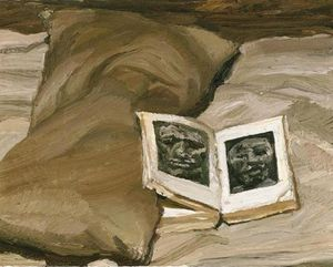 Lucian Freud - Still-Life with a Book
