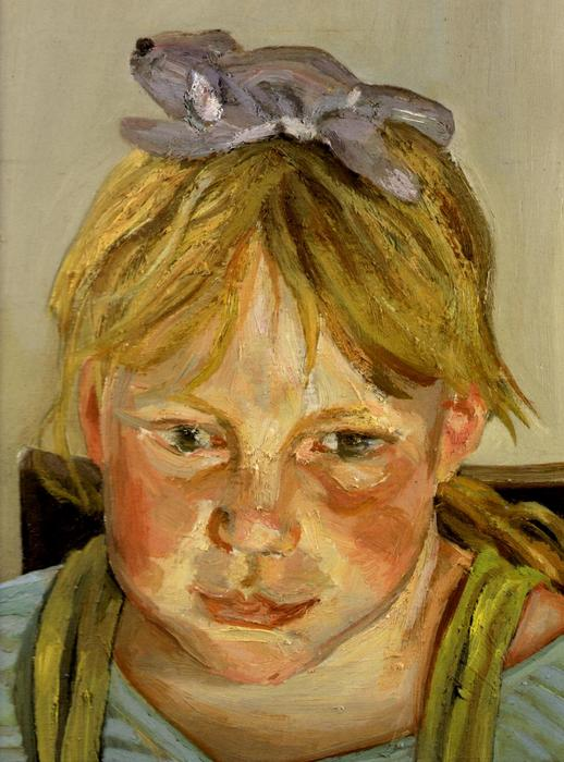 Alice and Okie, 1999 by Lucian Freud (1922-2011, Germany) |  | WahooArt.com