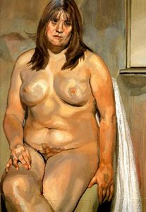Lucian Freud - The Butcher-s Daughter