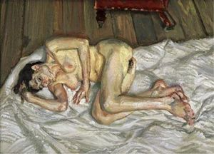Lucian Freud - After Breakfast