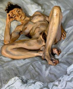 Lucian Freud - Naked Portrait