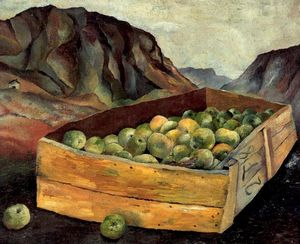 Lucian Freud - Box of Apples in Wales