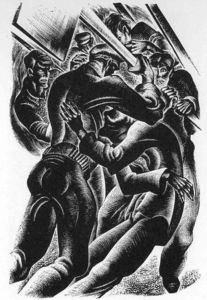 Lynd Ward - Prelude to a Million Years