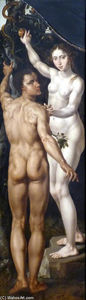 Maerten Van Heemskerck - Adam and Eve