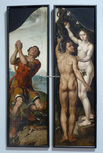 Maarten Van Heemskerck - Gideon / Adam and Eve