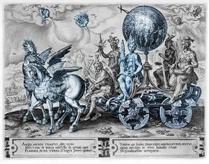 Maarten Van Heemskerck - Triumph of the World