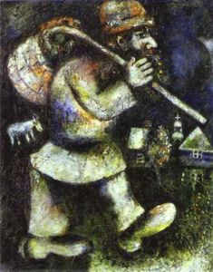 Marc Chagall - The Wandering Jew