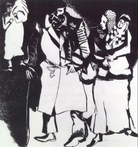 Marc Chagall - A Group of People
