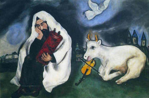 Marc Chagall - Solitude