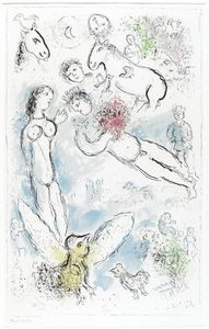 Marc Chagall - Surging Magic