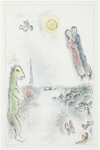 Marc Chagall - Two banks