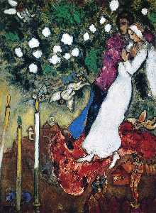 Marc Chagall - The Three Candles