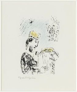 Marc Chagall - King David