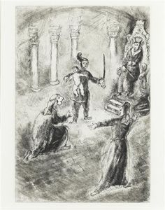 Marc Chagall - The Judgement of Solomon