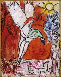 Marc Chagall - The Creation of Man