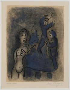 Marc Chagall - Rahab and the Spies of Jericho