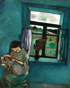 Marc Chagall - Bella and Ida by the Window