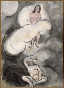 Marc Chagall - Creation of Eve