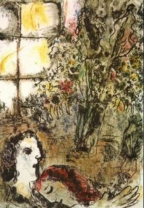 Marc Chagall - The Summer Evening