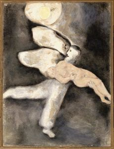 Marc Chagall - God creates Man