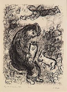 Marc Chagall - Praying