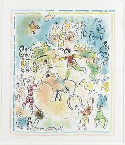 Marc Chagall - Burlesque and circus