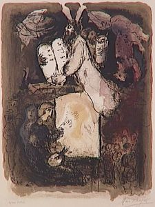 Marc Chagall - The painter's dream