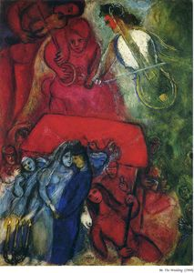 Marc Chagall - The Wedding