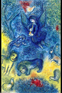 Marc Chagall - The Magic Flute