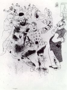 Marc Chagall - Banquet at the Police Chief's House