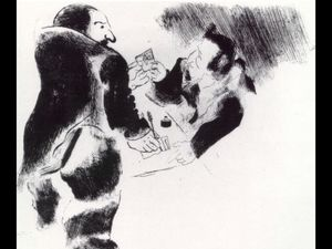 Marc Chagall - The deposit