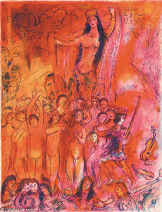 Marc Chagall - They were in forty pairs...