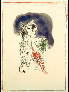 Marc Chagall - On the tramp