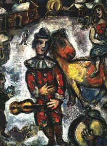 Marc Chagall - Circus in the Village