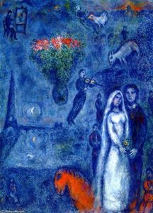 Marc Chagall - Artist and His Bride