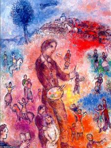 Marc Chagall - Artist at a Festival