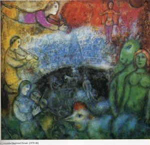 Marc Chagall - The Grand Parade