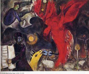 Marc Chagall - The Falling Angel