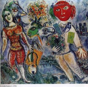 Marc Chagall - The Players
