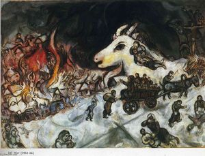 Marc Chagall - War