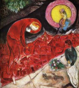 Marc Chagall - Red Roofs