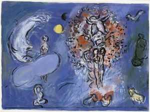 Marc Chagall - Paradise (9)